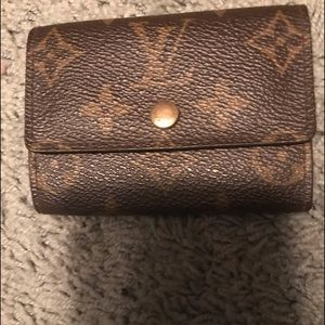 LOUIS VUITTON small wallet - extra pics